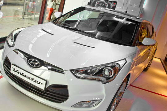 Best Asian cars: Hyundai Veloster