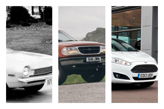 ford collage