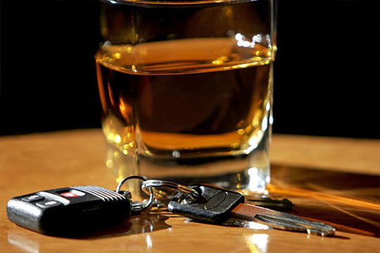 Drink with car keys