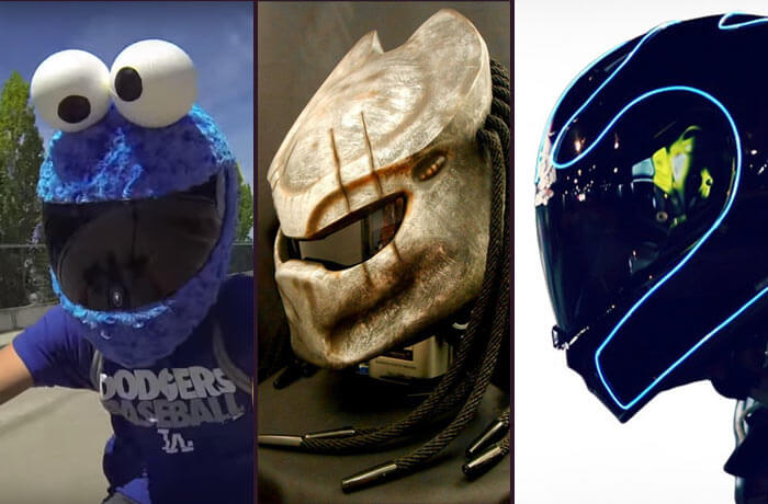 13 seriously cool custom motorbike helmets - Confused.com