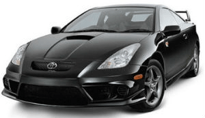 Toyota Celica Black car